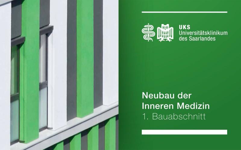 Baubroschüre zur Eröffnung der IMED